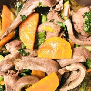 豚ハツ炒め 簡単レシピ