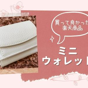 小さい財布はこれがオススメ!楽天でお得に購入したかわいいミニウォレットは使い勝手が最高