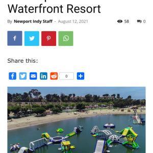 Newport Beachに出現します。