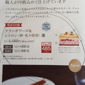 大地の卵・乳不使用クリスマスケーキ