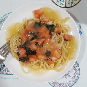チキンボーンブロスを使って作った夕食