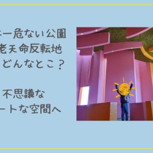 養老天命反転地の見どころは?グルメは?インスタ映えと評判。菅田将暉さんや星野源さんも訪れた日本一危ない公園をレポート