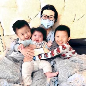 乳がんで亡くなった親友の義姉(3児のママ)