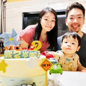 Babyの2歳誕生日おめでとう★