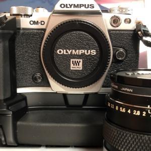 OLYMPUSミラーレス一眼M5-MarkⅡが持てるようになるまで...。