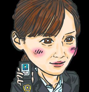 ・【似顔絵】24. ドラマ「天国と地獄」の綾瀬はるかさんの似顔絵