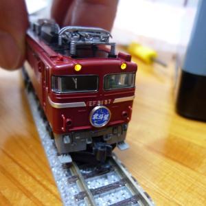 再びTOMIX 機関車ヘッドライト交換