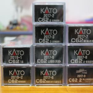 KATO C62達