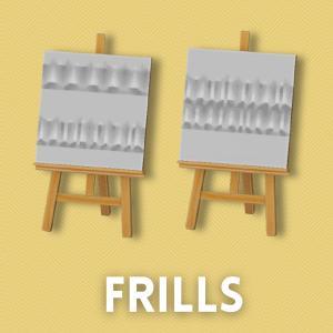 フリル生地 [Frills]【あつ森マイデザ】