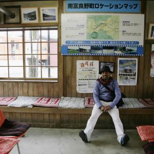 E-Bike旅で見たい風景10/幾寅駅(幌舞駅)