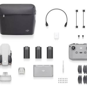 DJI Mini 2の単体とフライモアコンボの違い、どっちを買うべき?