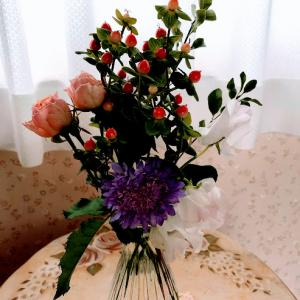 BloomeeLIFE 2回目のお花が届きました