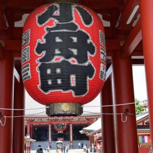 浅草寺へ御参り(2021年6月)
