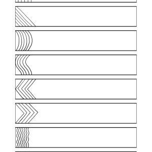 メヘンディー 基本文様の練習帳