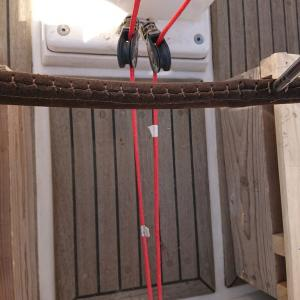 ロープ対策で床かさ上げ