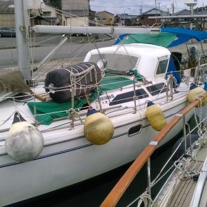 急遽、浜田港へバックしました