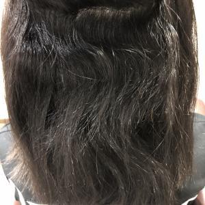 他店の縮毛矯正で失敗した髪を綺麗に!!