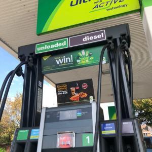 イギリスで間違った燃料を給油してしまったときには?