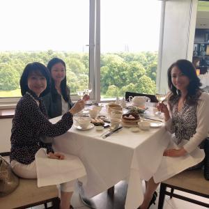 ケンジントンパレス&ハイドパークを見下ろす飲茶タイム「Min Jiang」