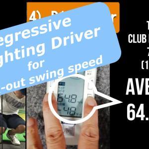 【56歳300ヤード】 ヘッドスピード改善ドリル2 漸減荷重ドライバー