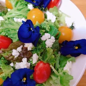 花を食べる