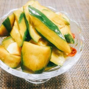 【材料を切ってつけるだけ!】ご飯とお酒が無限に進む♪ 『胡瓜のピリ辛にんにくポン酢漬け』の作り方