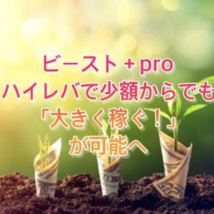 FX自動売買ツール Beast+ Pro(ビーストプラスプロ)ハイレバレッジ取引が魅力