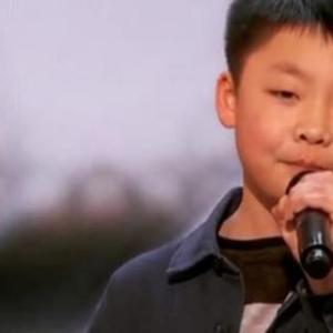 天才少年 李成宇(ジェフリー・リー) 超美声でYouRaiseMeUpを歌う少年