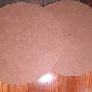 板をノコギリで丸く切る方法