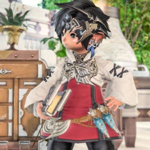 【ミラプリ】漆黒のアリゼーの衣装が可愛かったのでちょっと真似してみた