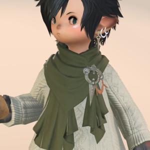 【ミラプリ】とってもあったかいマフラーとアクセサリー付きセーター『アドベンチャラーセーター』