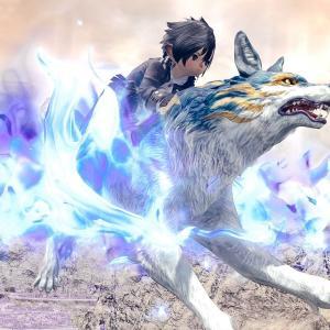 青い炎の犬神様・極青龍征魂戦マウント『青のカムイ』