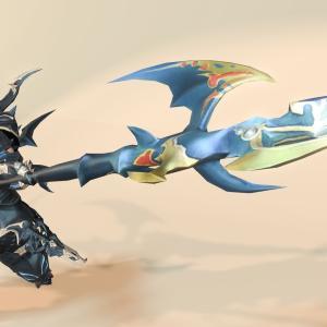 竜騎士のゾディアックウェポン(ZW)第三段階・青い槍『ゲイボルグ・アートマ』