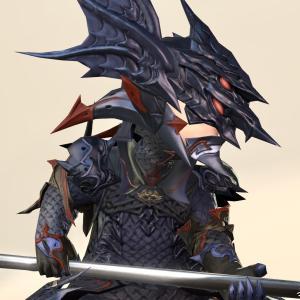 竜騎士のAF2装備・蒼天のイシュガルドを代表する衣装『ドラゴンランサー』シリーズ(ララフェル男子Ver.)