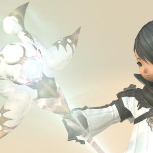 白魔道士のゾディアックウェポン(ZW)第二段階・光る伝説のレリック杖『タイラス・ゼニス』