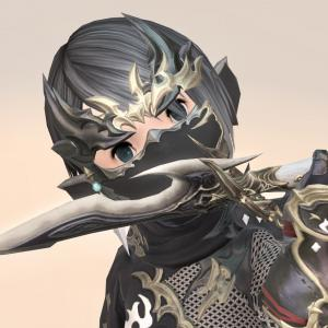 忍者のAF3武器&エウレカウェポン第一形態・シンプルな鉤爪状の和風アサシンナイフ『凪』
