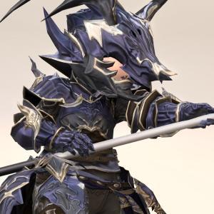 竜騎士のAF3装備・より重厚になったドラゴンメイル『トゥルーブラッド』シリーズ(ララフェル男子Ver.)