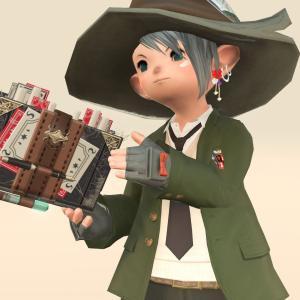 【ミラプリ】可愛く着崩した緑の魔法学院の学生さん風コーディネート