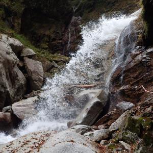 山梨県 北杜市 桑の木沢渓谷3 篠沢大滝