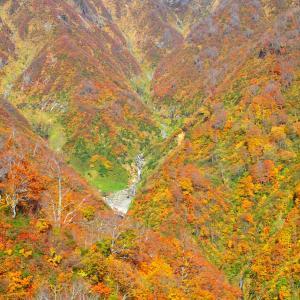 新潟県 魚沼市 守門岳2 布引の滝