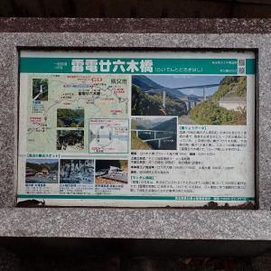 埼玉県 秩父市 雷電廿六木橋(らいでんとろどきばし)