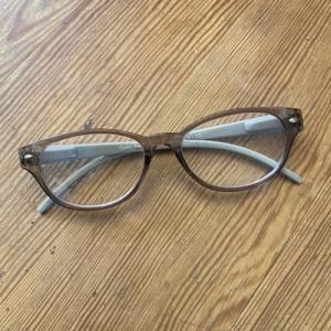 私の老眼鏡