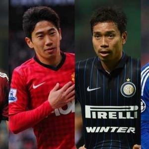 【悲報】欧州ビッグクラブでまともに試合出れた日本人選手たちwww
