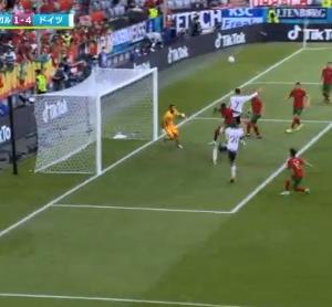 【速報動画】ポルトガルvsドイツ…ドイツさん4得点wwwwwwwww