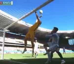 【速報/動画】スペインvsスロバキアの試合でとんでもない珍ゴールが決まるwwwwwwww