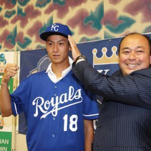 ロイヤルズ、16歳で契約した日本人投手『結城海斗』くんを解雇