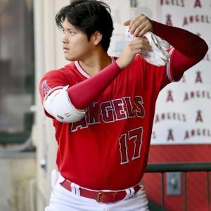 【MLB】大谷、MVP投票でトップ  大リーグ公式サイト