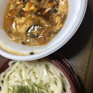 なか卯の新商品・酸辣湯うどんが美味しい!!