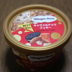 【ファミマ限定・期間限定】ハーゲンダッツ キャラメルナッツクッキー