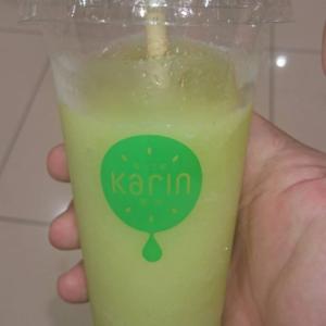karin(果林)のシャインマスカットジュースを飲んでみました(^^)/